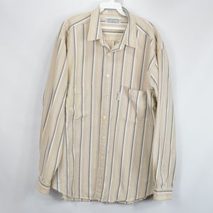 80s Silver Label Mens XL Long Sleeve Button Shirt